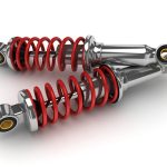 shock absorber car (done in 3d isolated)